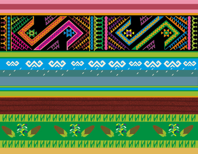 Designs for collection of printed tights