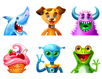 Cute avatars for Promethean