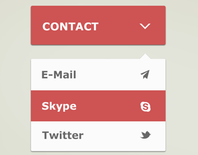 Dropdown Contact Menu