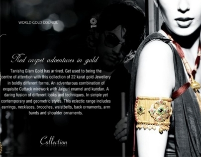 Tanishq - Glam Gold Collection