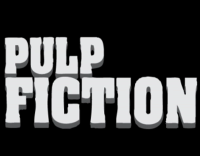Opening Titles - Pulp Fiction (Saul Bass style)