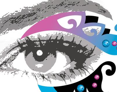 Fantasy Body and Eye Art