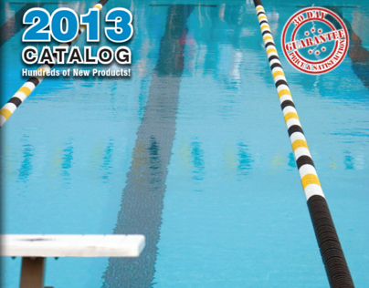 128 Page Catalog Design for Commercial Pool Equipment