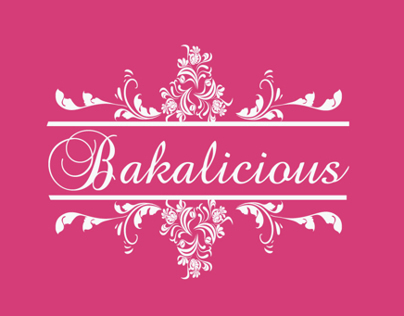 Bakalicious Logo & Website