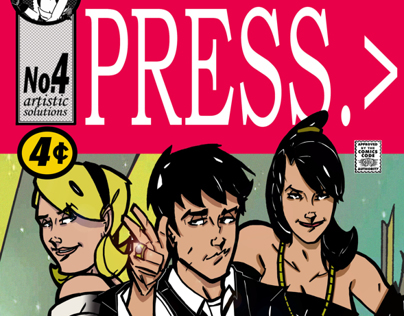 Press;  a graphic novella