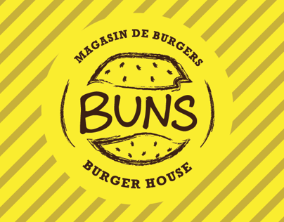 Buns Burger Shop Re-Branding