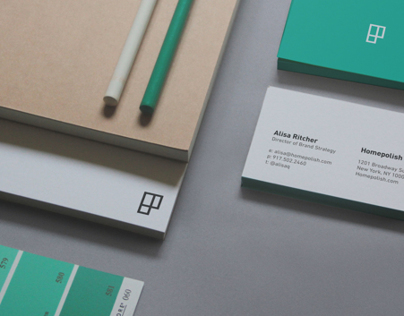 Homepolish Visual Identity