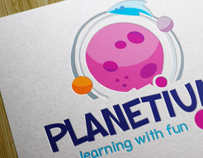 Planetium Logo. Children related.