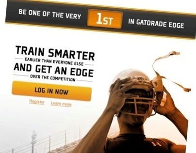 Gatorade EDGE Showcase launch email