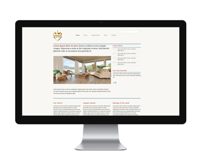 Dominion Centre website: Re-Designed.