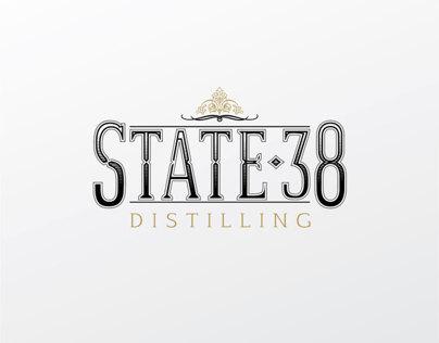 State-38 Distilling Branding