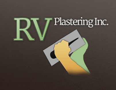 RV Plastering Branding