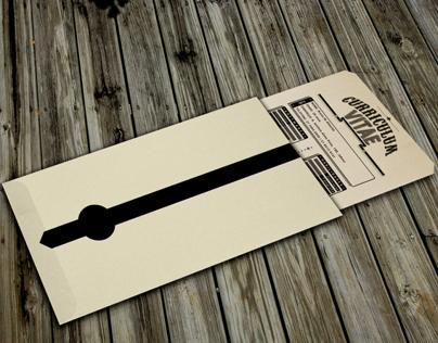 Typographic Curriculum Vitae - Handmade