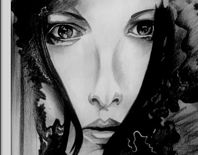 Charcoal Work: Portrait