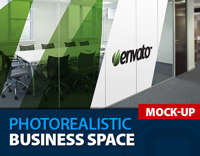Mock-Up Logo 3D_Business Space_Vol.2
