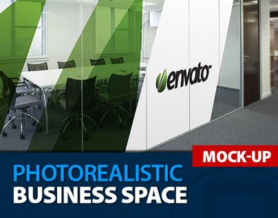 Mock-Up Logo 3D_Business Space_Vol.2