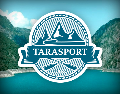 Tarasport Rafting - Logo and Website design