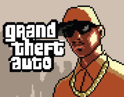 GTA SA 8-bit Song