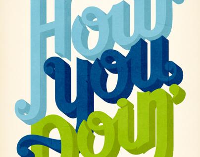 Friends Typography