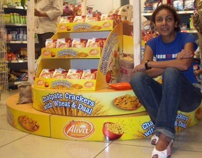 Launch Visibility solution: Aliva Frito lay India 2009