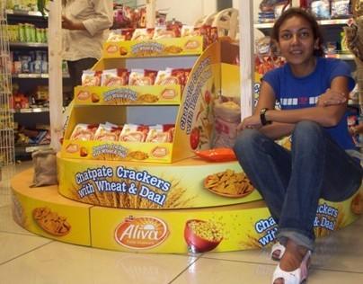 Launch Visibility solution: Aliva Frito lay India 2009