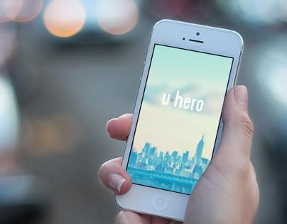 U-Hero App. Save and be Saved.