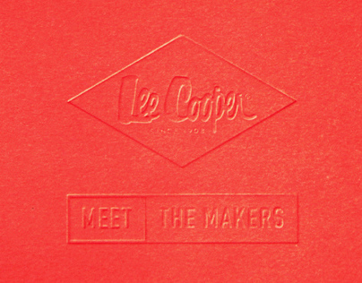 Lee Cooper — Meet The Makers Identity & Microsite