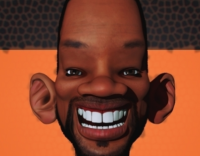 Will Smith Caricature