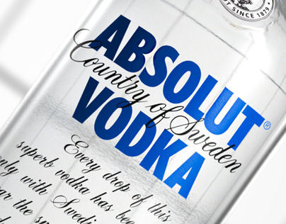 Absolut Vodka - Absolut Apeach /// Creative Vis and Adv