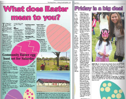 2013 Pampa News Easter Section