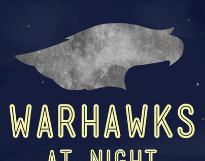 Warhawks At Night Event Poster