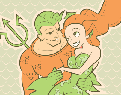 Aquaman and Mera: Deep Sea Stargazing