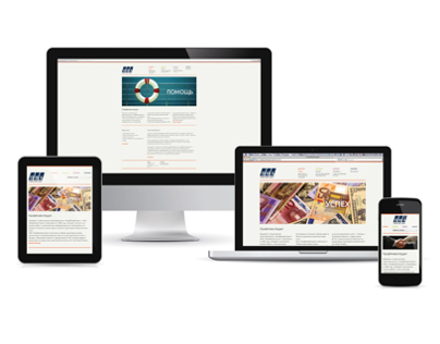 "Website with responsive design for ""Profinvestaudit"""