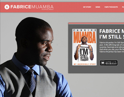 Fabrice Muamba Official Site