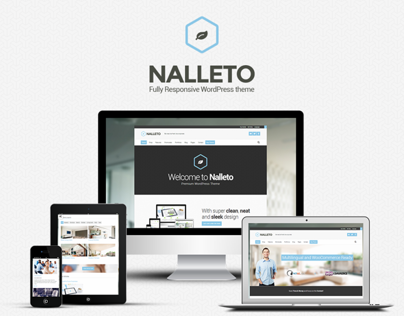 Nalleto WP - Be fresh, be corporate