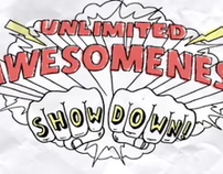 Unlimited Awesomeness Showdown — Facebook contest