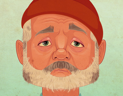 THE LIFE AQUATIC -with Bill Murray