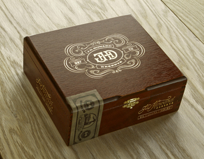 J.D. Howard Reserve Cigar Packaging