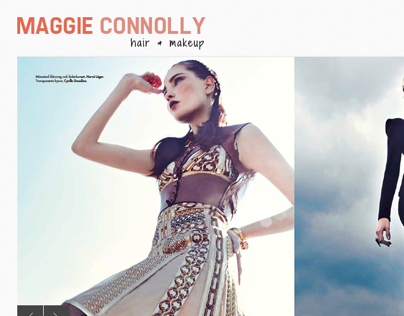 Maggie Connolly - Hair & Makeup - Website