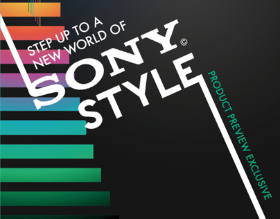 Sony Catalog Design