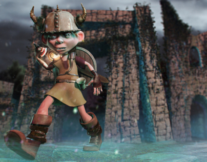 Viking Kid: rigging and cycles