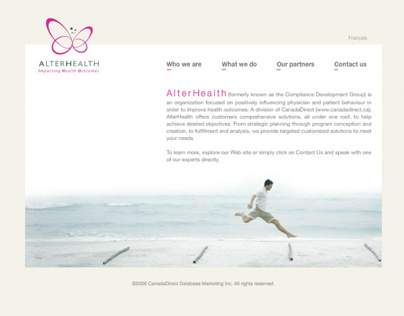 AlterHealth - Web Design