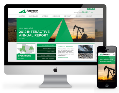 Approach Resources Responsive Web Redesign