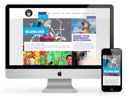 Cougar Paper Responsive Web Redesign