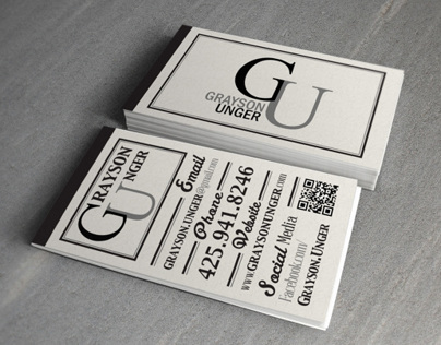 Grayson Business Cards