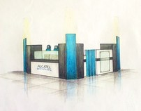 ALCATEL one touch Kiosk design