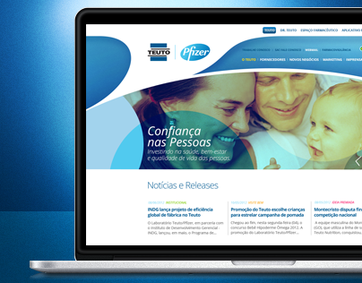 Teuto / Pfizer Website