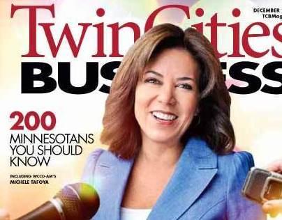 Michelle Tafoya magazine cover