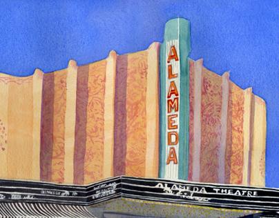 Alameda Plein air Painting; Frank Bette Center Event