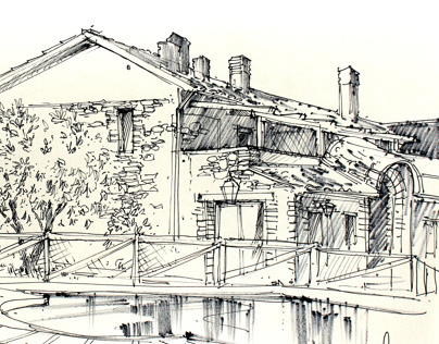 Travel sketches - holiday 2013